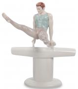 Фарфоровая статуэтка «Гимнаст»