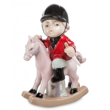 Фарфоровая статуэтка «Юный жокей»