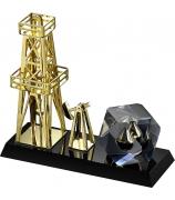 Подарочная статуэтка «Нефтяная вышка»