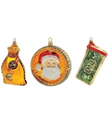 Набор елочных игрушек «Деньги»