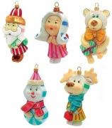 Набор елочных игрушек «Карамельки»
