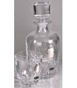 Подарочный набор под виски: графин, 6 бокалов.