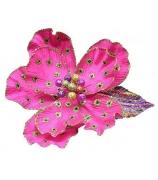 Цветочек с орнаментом в горошек