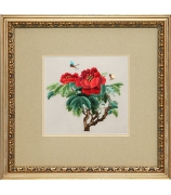 Шелковая картина «Королева Виктория»