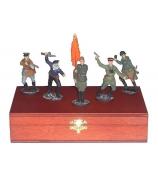 Оловянные миниатюрные фигурки «Советская Армия II мировая война»