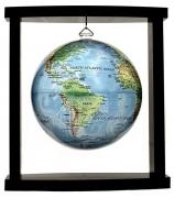 Глобус настольный самовращающийся (подвесной)