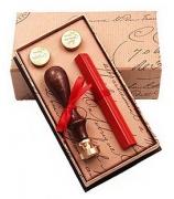 Подарочный набор с сургучной печатью