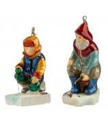 Набор елочных игрушек «Рыбаки»