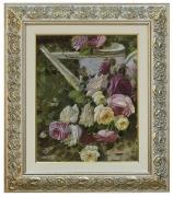 Натюрморт с цветами (масло)