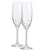 Набор из 2-х бокалов для шампанского «Волшебство мгновения»