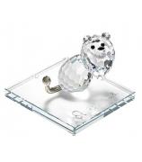 Хрустальный сувенир «Подарок Льву»