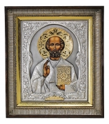 Икона «Николай Чудотворец» (с золотым венцом)
