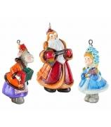 Набор елочных игрушек «Праздничный оркестр»