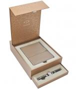 Подарочный набор Parker: записная книжка и ручка