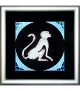 Мини-картина «Символ года-Обезьяна»