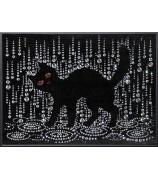 Картина «Кошка под дождем»