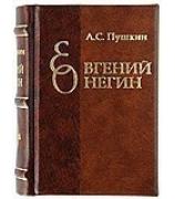 Миниатюрная книга «Евгений Онегин» А.С.Пушкин