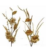 Ветка с тремя цветочками