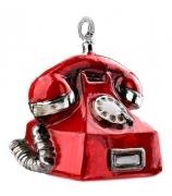 Елочная игрушка «Старый телефон»