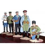 Оловянные солдатики «Белая гвардия»