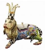 Статуэтка-шкатулка собака «Агата»