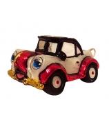 Елочная игрушка «Веселый автомобиль»