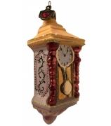 Елочная игрушка «Часы»