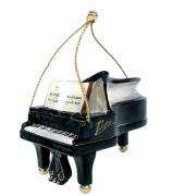Елочная игрушка «Фортепиано черное»