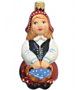 Ёлочная игрушка «Красная шапочка»
