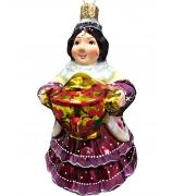 Ёлочная игрушка «Купчиха»