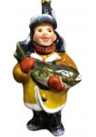 Ёлочная игрушка «Рыбак»