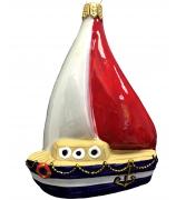 Ёлочная игрушка «Яхта»