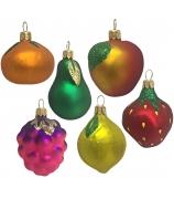 Набор ёлочных игрушек «Фруктовое ассорти»