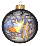 Елочный шар «Зимние забавы»