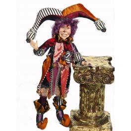 Коллекционная кукла  «Шут Валериус»