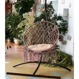 Подвесное кресло-качели «ARUBA» с каркасом