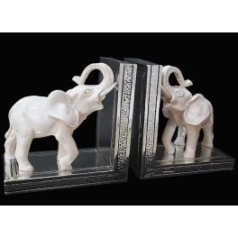 Держатели для книг «Два слона»