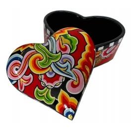 Шкатулка «Сердце» отТомаса Хоффмана, Германия.
