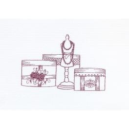 Комплект из 3-х полотенец «От кутюр»