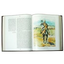 Книга в кожаном переплете «Русская охота. Л.П.Сабанеев»