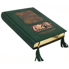 Книга в кожаном переплете «Омар Хайям и персидские поэты X-XVI веков»