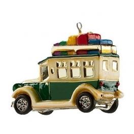 Новогодняя игрушка «Дилижанс с подарками», Польша