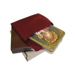 Икона «Утоли моя печали», в деревянной шкатулке