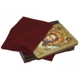 Икона «Спас Нерукотворный» на морёном дубе
