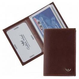 Кожаный футляр для кредитных карт