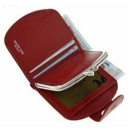 Кожаное портмоне-кошелёк