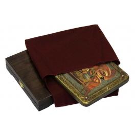 Икона «Святой апостол и евангелист Лука» в шкатулке