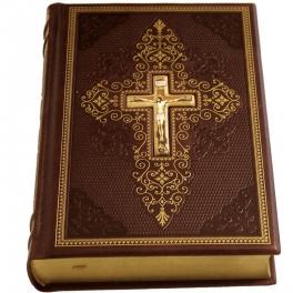 Библия с лаковой миниатюрой
