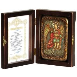 Настольная икона «Архангел Михаил», подарочная, настольная.