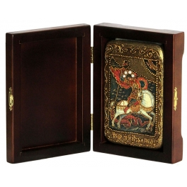Икона «Святой Георгий Победоносец», подарочная